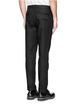 Back View - Click To Enlarge - rag & bone - 'Skinny' cotton twill pants
