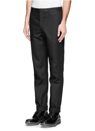 Front View - Click To Enlarge - rag & bone - 'Skinny' cotton twill pants