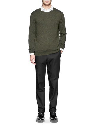 Figure View - Click To Enlarge - rag & bone - 'Skinny' cotton twill pants