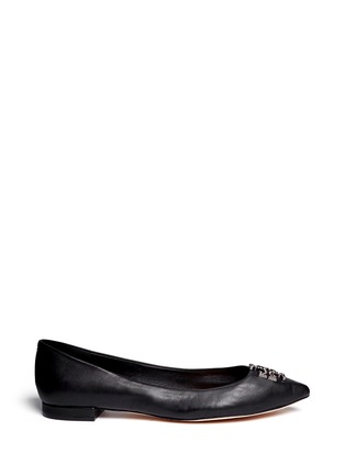 Main View - Click To Enlarge - Tory Burch - 'Kellen' leather flats