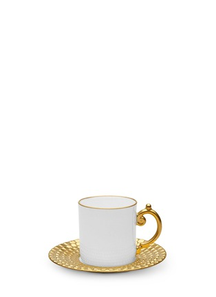 Main View - Click To Enlarge - L'Objet - Aegean espresso cup and saucer set