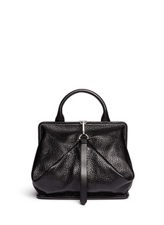 ALEXANDER WANG Opanca fold-up boxy leather satchel
