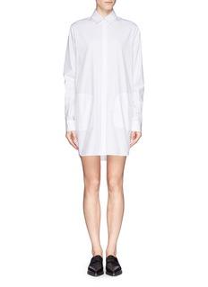 T BY ALEXANDER WANGCotton poplin shirt dress