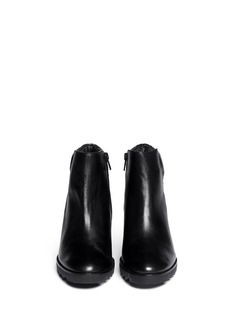 ASH'Iron' leather wedge ankle boots