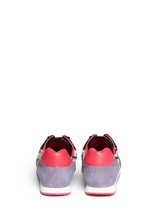 Back View - Click To Enlarge - Tory Burch - 'Delancey' floral print sneakers