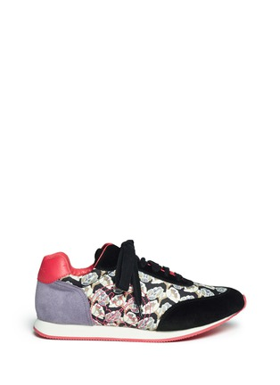 Main View - Click To Enlarge - Tory Burch - 'Delancey' floral print sneakers