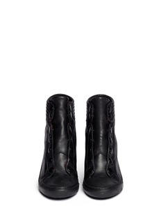 ASH'Patchouli' high heel sneaker boots