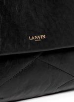 Sugar medium quilt leather shoulder bag