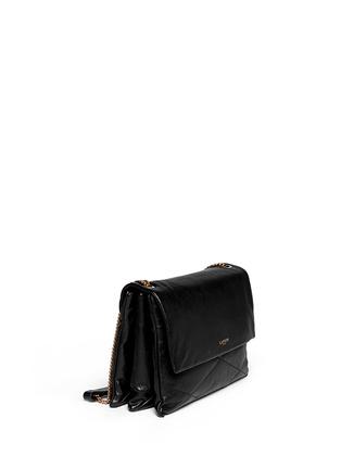 LANVIN-Sugar medium quilt leather shoulder bag
