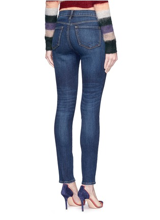 Back View - Click To Enlarge - J Brand - 'Maria' high rise skinny jeans