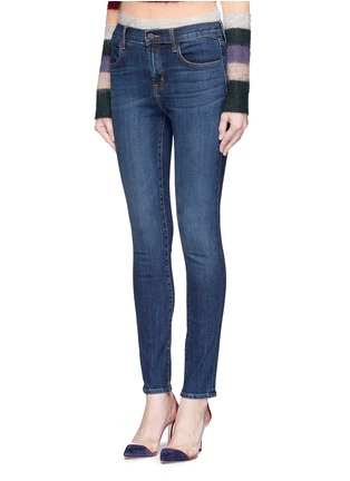 Front View - Click To Enlarge - J Brand - 'Maria' high rise skinny jeans