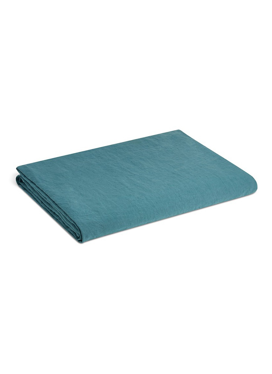 Rem king size linen fitted sheet by Society