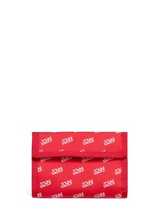 JohnundercoverLogo print trifold wallet