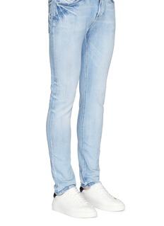 Bing Xu'Wimbledon' leather tennis sneakers