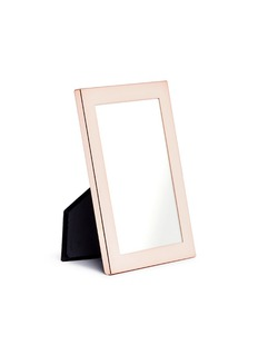 Addison Ross Rose gold plated silver 8R photo frame