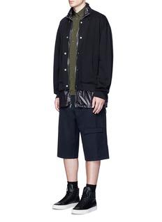 OAMC'Staff' wool shorts