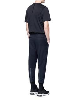 OAMCZip cuff cropped virgin wool pants