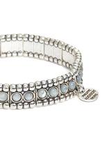 'Wapoo' mother of pearl elastic bracelet