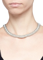 'Wapoo' mother of pearl necklace