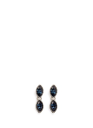 Main View - Click To Enlarge - Philippe Audibert - 'Becky' Swarovski crystal drop earrings