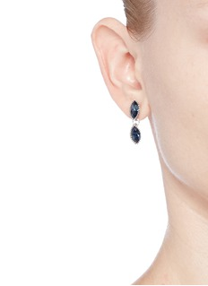 Philippe Audibert 'Becky' Swarovski crystal drop earrings