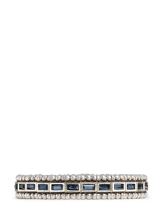Philippe Audibert'Cesario' inset Swarovski crystal elastic bracelet