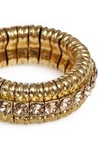 'New Broome' Swarovski crystal elastic ring