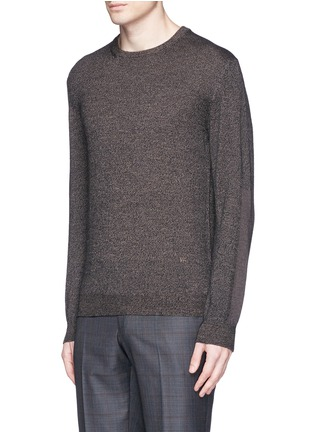 Front View - Click To Enlarge - ISAIA - Mélange wool sweater