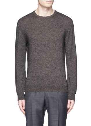 Main View - Click To Enlarge - ISAIA - Mélange wool sweater