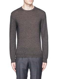 ISAIA Mélange wool sweater