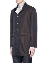 Reversible Aqua Cotton coat
