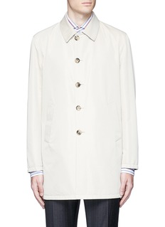 ISAIA Reversible Aqua Cotton coat