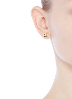 RUIFIER 'Wicked' 18k yellow gold cord stud earrings
