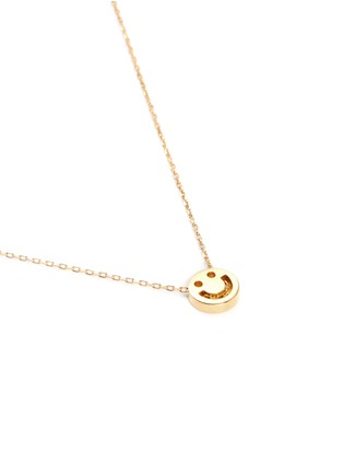 Ruifier - 'Happy' 18k yellow gold chain pendant necklace