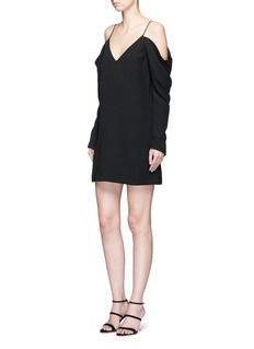 C/Meo Collective  Cold shoulder V-neck dress