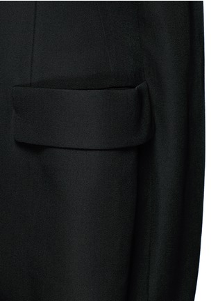 Detail View - Click To Enlarge - Balenciaga - Virgin wool sleeveless jacket