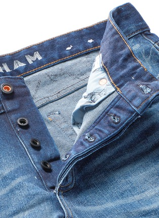 - Denham - 'Razor' distressed slim fit jeans