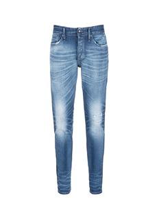 Denham'Razor' distressed slim fit jeans