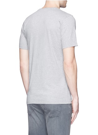 Back View - Click To Enlarge - Denham - 'D-VII Camo' print cotton T-shirt