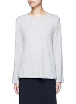 'Zadie' flare sleeve cashmere sweater