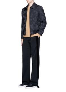 Alexander McQueenPaisley jacquard blouson jacket