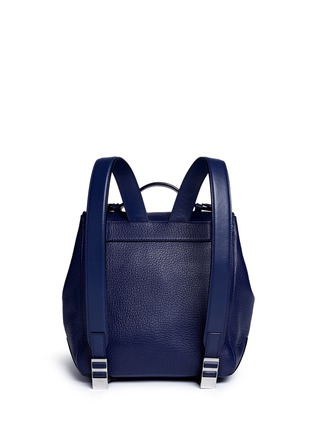 Back View - Click To Enlarge - Proenza Schouler - 'Courier' small pebbled leather backpack