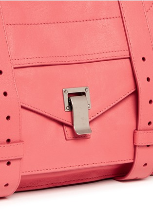 Detail View - Click To Enlarge - Proenza Schouler - 'PS1' medium leather satchel