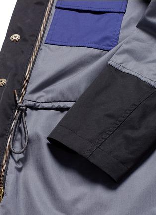 - Marni - Reversible contrast pocket drawstring blazer