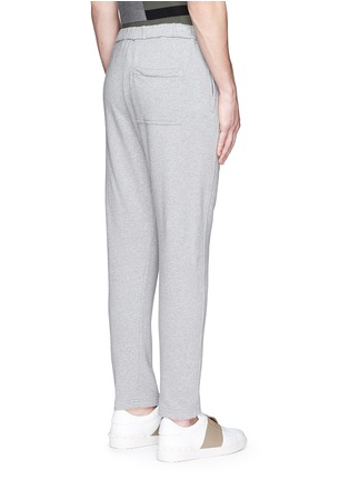 Back View - Click To Enlarge - Marni - Cotton French terry jogging pants