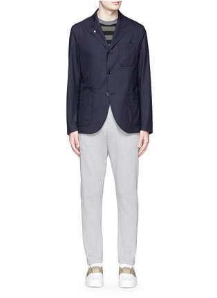 Figure View - Click To Enlarge - Marni - Cotton French terry jogging pants