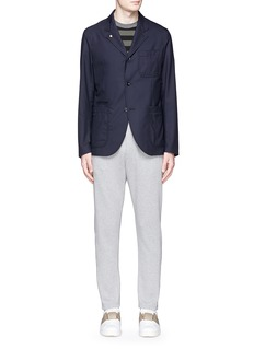 MARNICotton French terry jogging pants