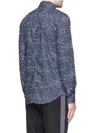 背面 - 点击放大 - MARNI - 波点印花纯棉衬衫