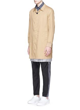 模特儿示范图 - 点击放大 - MARNI - 波点印花纯棉衬衫