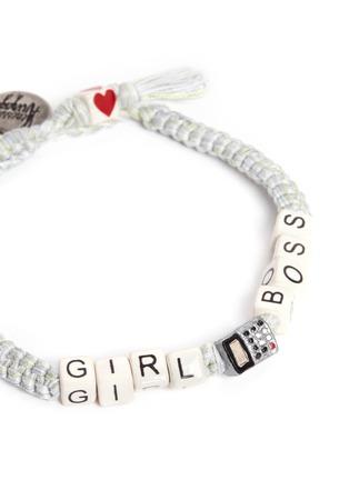 Detail View - Click To Enlarge - Venessa Arizaga - 'Girl Boss' bracelet